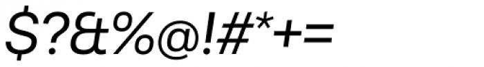 Sarine Regular Italic Font OTHER CHARS