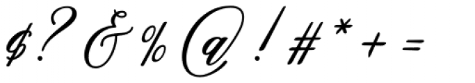 Sarmytos Regular Font OTHER CHARS