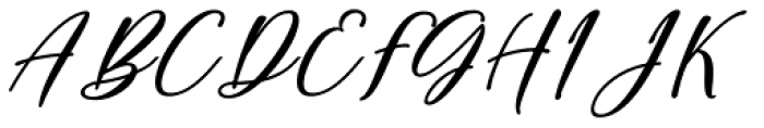 Sarmytos Regular Font UPPERCASE