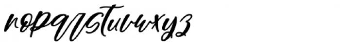Sarmytos Regular Font LOWERCASE