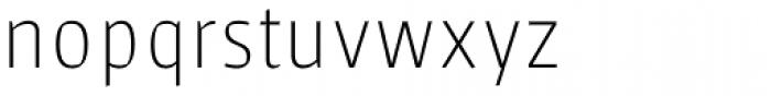 Sarre Testversion Thin Font LOWERCASE