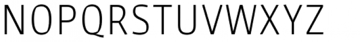 Sarre UltraLight Font UPPERCASE