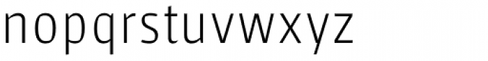 Sarre UltraLight Font LOWERCASE