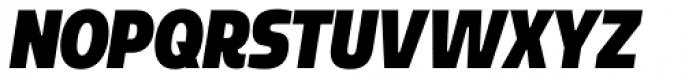 Sarun Pro Condensed Ultra Italic Font UPPERCASE