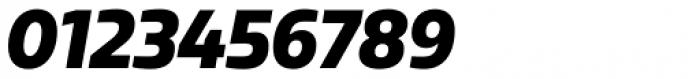 Sarun Pro Narrow Black Italic Font OTHER CHARS