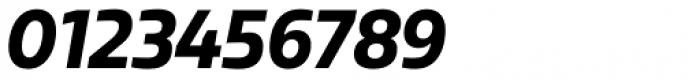 Sarun Pro Narrow Heavy Italic Font OTHER CHARS