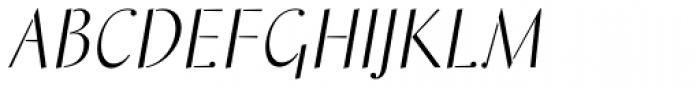 Saskia Pro Font UPPERCASE
