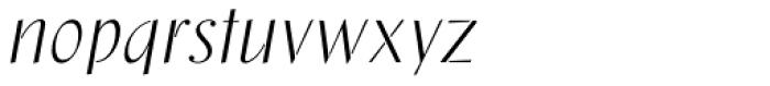 Saskia Pro Font LOWERCASE