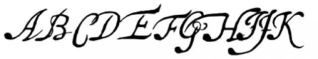 Saskya Font UPPERCASE