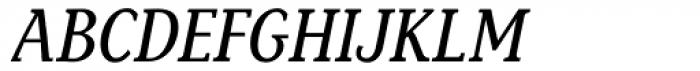 Sassoon Book Com Italic Font UPPERCASE