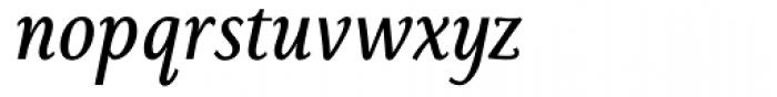 Sassoon Book Com Italic Font LOWERCASE