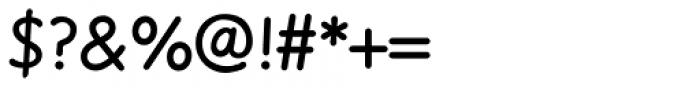 Sassoon Felt Regular Font OTHER CHARS