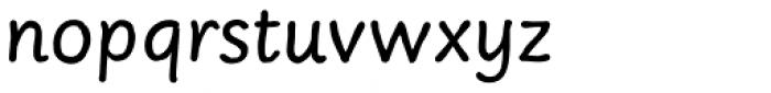 Sassoon Felt Regular Font LOWERCASE