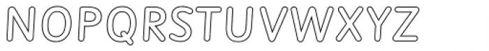Sassoon Montessori Tracker Font UPPERCASE