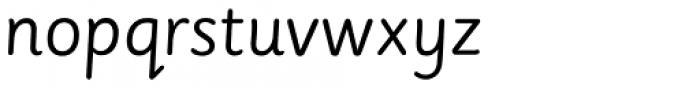 Sassoon Montessori Font LOWERCASE