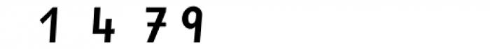 Sassoon Primary Medium Condensed Alternate Font OTHER CHARS