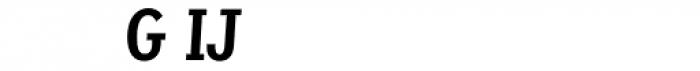 Sassoon Primary Medium Condensed Alternate Font UPPERCASE