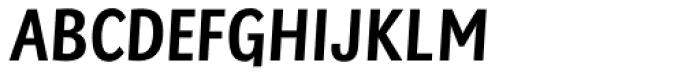 Sassoon Primary Medium Condensed Font UPPERCASE