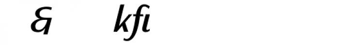 Sassoon Primary Medium Italic Alternate Font OTHER CHARS