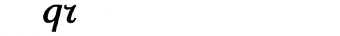 Sassoon Primary Medium Italic Alternate Font LOWERCASE