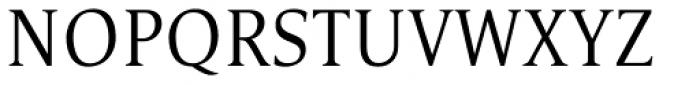 Satero Serif Pro Light Font UPPERCASE