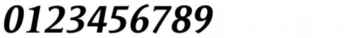 Satero Serif Pro Medium Italic Font OTHER CHARS
