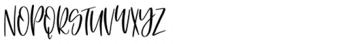 Saturday Brunch Regular Font UPPERCASE