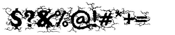 Saugatuck Natural Font OTHER CHARS