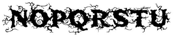 Saugatuck Natural Font LOWERCASE