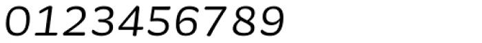 Sauna Mono Pro Italic Font OTHER CHARS