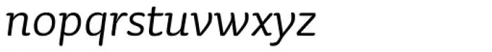 Sauna Pro Italic Font LOWERCASE
