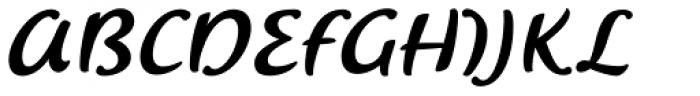 Saussa Pro Font UPPERCASE