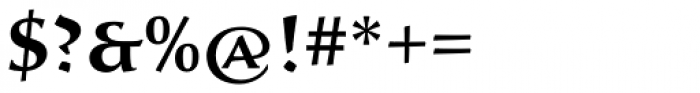 Sava Pro SemiBold Font OTHER CHARS