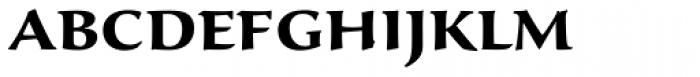 Sava Pro SemiBold Font LOWERCASE