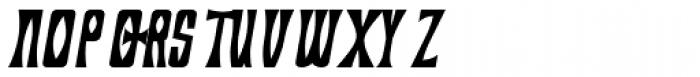 Savasato Bold Italic Font UPPERCASE