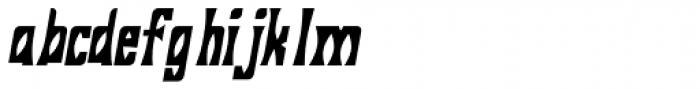 Savasato Bold Italic Font LOWERCASE