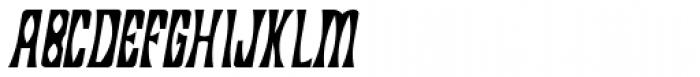 Savasato Italic Font UPPERCASE