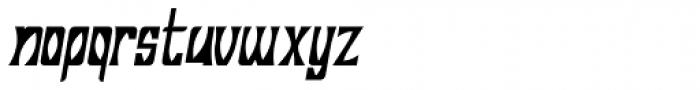 Savasato Italic Font LOWERCASE