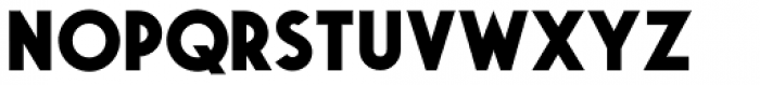 Saveur Sans Bold Font UPPERCASE