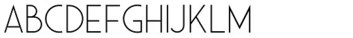 Saveur Sans Light Font UPPERCASE