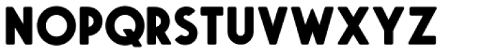 Saveur Sans Round Bold Font UPPERCASE