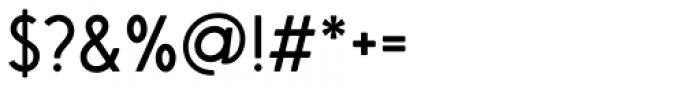Saveur Sans Round Regular Font OTHER CHARS