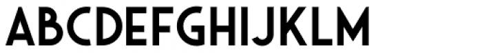 Saveur Sans Semi bold Font UPPERCASE
