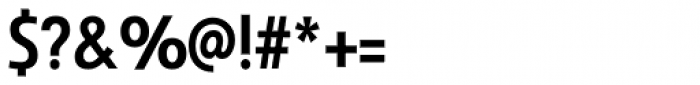 Savigny Medium Condensed Font OTHER CHARS