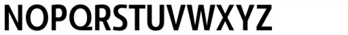 Savigny Medium Condensed Font UPPERCASE