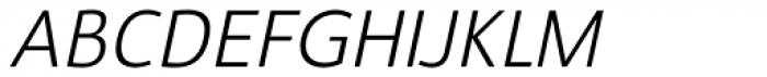 Savigny Regular Normal Italic Font UPPERCASE