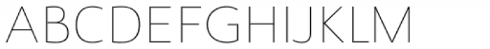 Savigny Thin Normal Font UPPERCASE