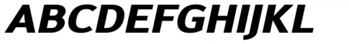 Savile Heavy Italic Font UPPERCASE