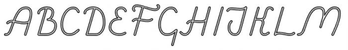 Savoiardi Sans Display Font UPPERCASE