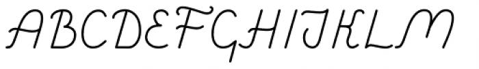 Savoiardi Sans Font UPPERCASE